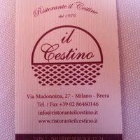 Photo taken at Il Cestino by Tesoro on 10/7/2012