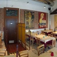 Photo taken at Bocconi Cafe' Ristorante Pizzeria Cocktail Bar by Tesoro on 5/9/2016