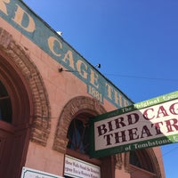 Photo taken at The Original Bird Cage Theatre Of Tombstone by Kimberly P. on 10/6/2017