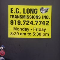 Photo taken at E.C. Long Transmissions Inc. by R. J. on 4/2/2014