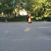 Photo taken at Central Park Dance Skaters Association (CPDSA) — Free Roller Skating Rink by Alan G. on 7/20/2014