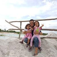 Photo taken at Tambang Kaolin, Belitung by Afifah V. on 9/28/2016