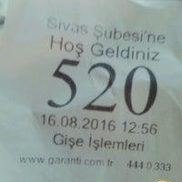 Photo taken at Garanti Bankası by Alaattin S. on 8/16/2016
