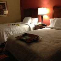 Photo taken at Hampton Inn Philadelphia Center City-Convention Center by Irina S. on 12/26/2012