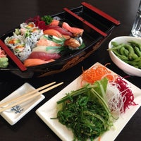 Photo taken at Sushi House by Irina S. on 7/30/2014