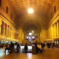 Photo taken at Union Station (YBZ) by Irina S. on 12/14/2012