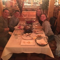 Photo taken at The Matterhorn Swiss Restaurant by John W. on 10/24/2016