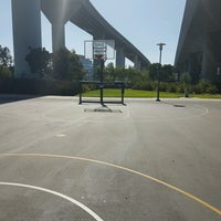 Photo taken at Berry Basketball Courts by Effie B. on 9/30/2016