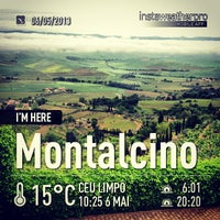 Photo taken at Dei Capitani Hotel Montalcino by Isabela S. on 5/6/2013