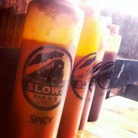 Photo taken at Slows Bar-B-Q by David B. on 1/20/2013
