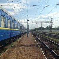 Photo taken at Залізнична станція «Урожайна» by kayamuskas on 6/17/2013