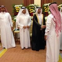 Photo taken at aljewan hall by Abdulla on 1/22/2014