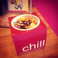 Photo taken at chillbox frozen yogurt by Angelos P. on 5/12/2013