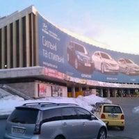 Снимок сделан в Национальный дворец искусств «Украина» пользователем Vitaliy E. 12/30/2012
