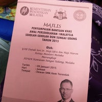 Photo taken at SMK Kem Terendak by Amirah on 1/9/2015