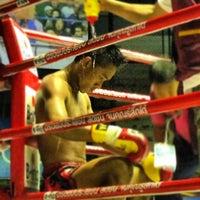 Photo taken at Rajadamnern Stadium by sacha J. on 10/14/2012