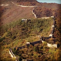 Photo taken at Great Wall at Mutianyu by sacha J. on 10/22/2012