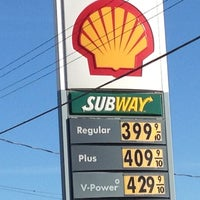 Photo taken at Shell by Rick R. on 10/1/2012