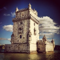 Photo taken at Belém Tower by Maxi A. on 5/28/2013