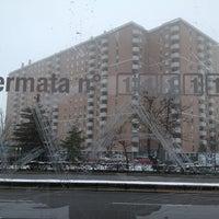 Photo taken at Fermata Via Missaglia - Via Boifava by Lorenzo F. on 2/13/2013