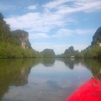 Photo taken at ถ้ำลอด-ถ้ำผีหัวโต by Kletdoaw B. on 9/13/2015