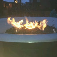 Photo taken at Festive Fireplace at Ghirardelli Square by Angela H. on 10/31/2012