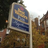 Photo taken at BEST WESTERN PLUS Hawthorne Terrace by Evan[Bu] on 11/7/2013
