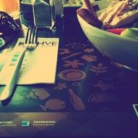 2/14/2013 tarihinde Merve O.ziyaretçi tarafından KA'hve Café & Restaurant'de çekilen fotoğraf