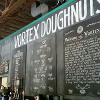 Photo taken at Vortex Doughnuts by Keith P. on 10/18/2015