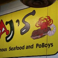 Photo taken at AJ's Famous Seafood and PoBoys by Keith P. on 7/19/2015