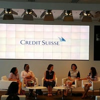 Photo taken at Credit Suisse by Hauser on 6/17/2015