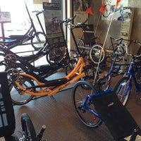 Photo taken at Richardson Bike Mart by Irma K. on 11/24/2012