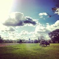 10/14/2012 tarihinde Sebastian Z.ziyaretçi tarafından Hampstead Heath Ponds'de çekilen fotoğraf