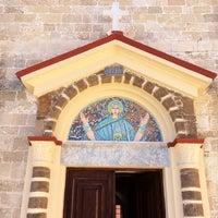 Photo taken at Ιερός Ναός Εισοδίων της Θεοτόκου by Kostis L. on 6/22/2014
