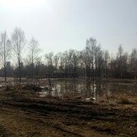 Photo taken at Газпромнефть АЗС № 3 by Kufzuk on 4/15/2018
