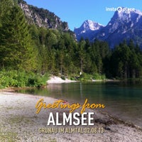 Photo taken at Almsee by Andreas W. on 8/2/2013