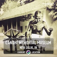 Photo taken at Gandhi Memorial Museum by Andreas W. on 11/10/2013