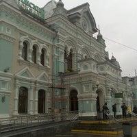 Photo taken at Rizhsky Rail Terminal by Lelena M. on 11/3/2012