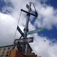 Photo taken at W 151st Street & Broadway by Bill C. on 4/26/2014