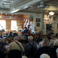 Photo taken at Floyd Country Store by Robert H. on 1/12/2014