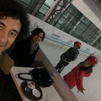 Photo taken at Icessporto Buz Pisti by Medet Ö. on 3/1/2017