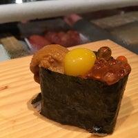 Photo taken at Tanoshi Sushi by Anne C. on 5/14/2016