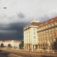 Photo taken at Dejvická (bus) by Jaroslava S. on 6/22/2013