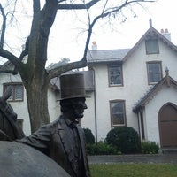 Photo taken at President Lincoln's Cottage by Daniya T. on 1/13/2013