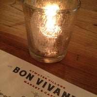 Photo taken at Bon Vivant Market And Cafe by Sal L. on 3/24/2013
