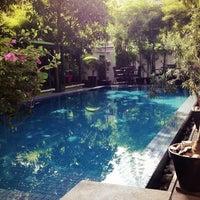 Photo taken at The 252 Hotel, Phnom Penh by Regina B. on 12/17/2012