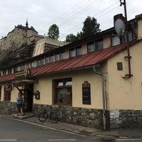 Photo taken at Restaurace Pod Hradem by Pavel M. on 6/14/2014