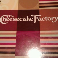 Photo taken at The Cheesecake Factory by Ed G. on 1/21/2013