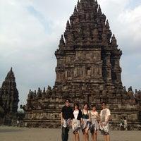 Photo taken at Candi Prambanan (Prambanan Temple) by Jeaf G. on 7/21/2013
