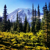 Photo taken at Mount Rainier National Park by Julia R. on 7/15/2013
